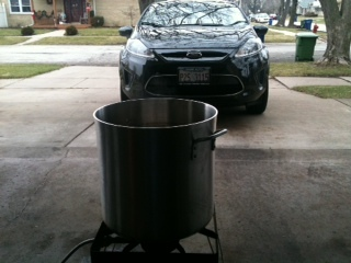 Back to Winter Garage Brewing - Sweet Stout