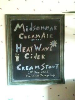 DIY Blackboard for Beer and Cider