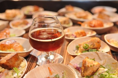 Food and Handmade Beers Pairing Dinner