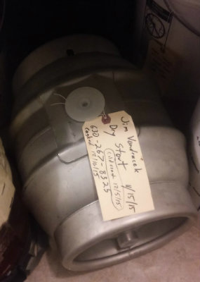 Cask Conditioned Dry Irish Stout - CHAOS' Stout & Chili Night