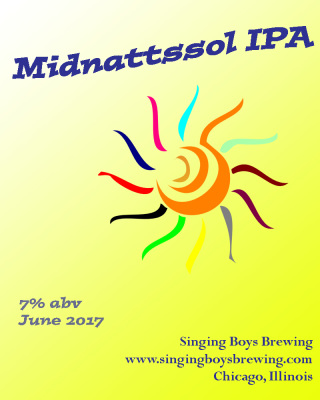 Midnattssol IPA for Our Midsommar Celebration