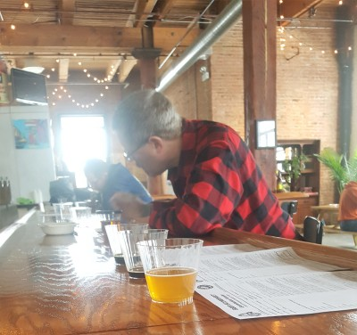 Tasting Beer is Serious Stuff:  BJCP Beer Evaluation Exam